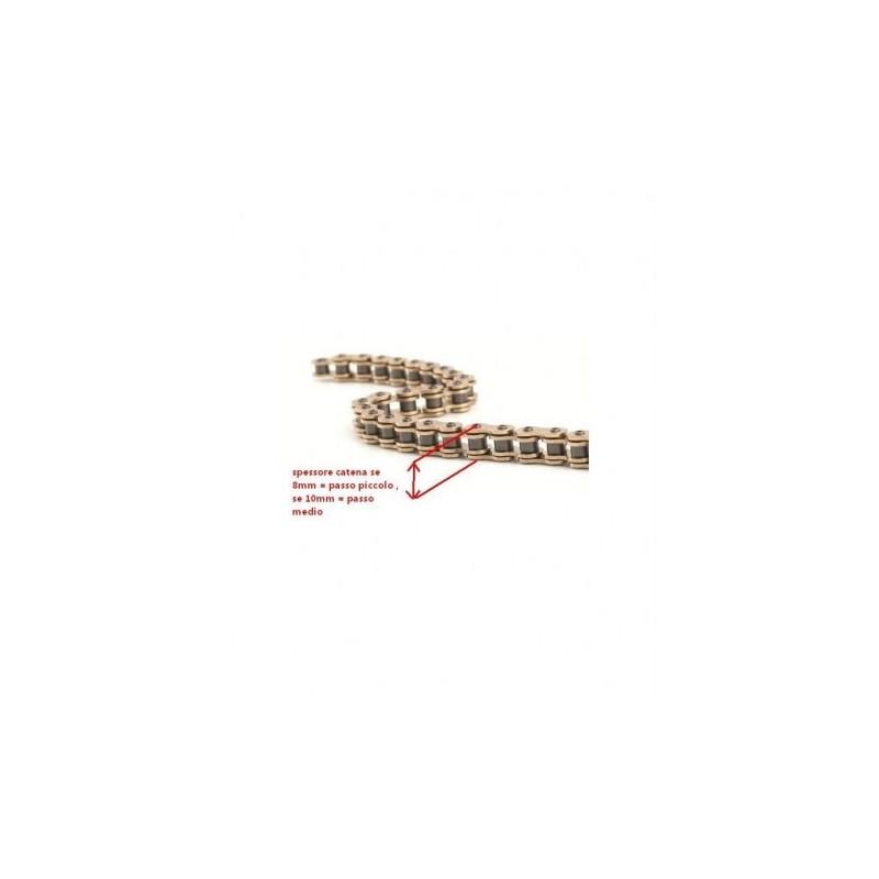 CATENA 100 CM MINIMOTO GP1 passo piccolo 8mm miniatv miniquad quad