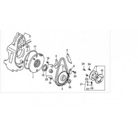 O-RING 107X2 PER PIATTO STATORE 110/125