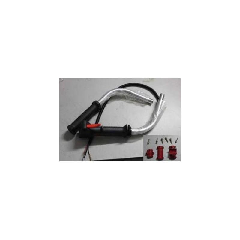 Impugnatura manubrio per decespugliatore a corni adattatore manopola x canna 26mm