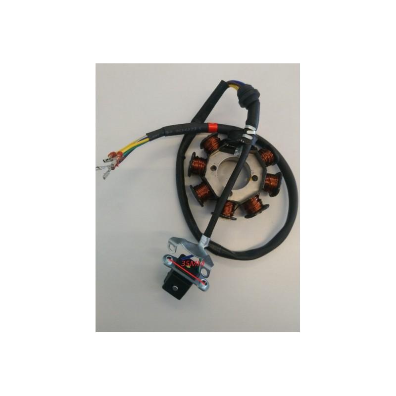 STATORE ATV 8 bobine miniatv quad x motore 4 tempi 250CC