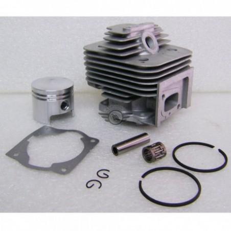 kit set motore decespugliatore 53cc 2,5cv pistone cilindro fasce adattabile 43cc