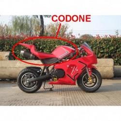 CODONE MINIMOTO GP2 - plastiche carene posteriore seduta