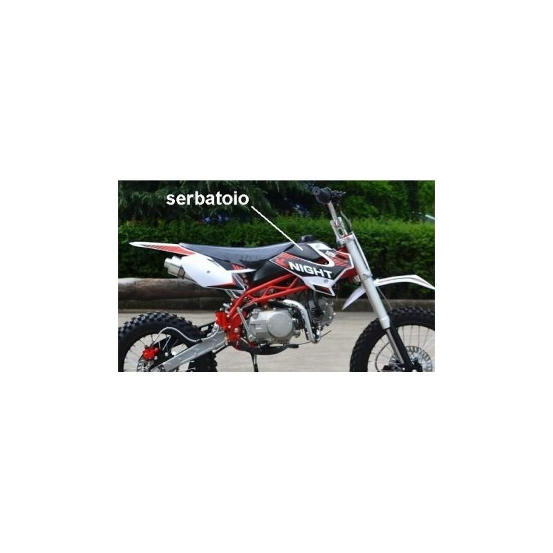 SERBATOIO PIT BIKE SCORPION - incluso tappo benzina minicross cross