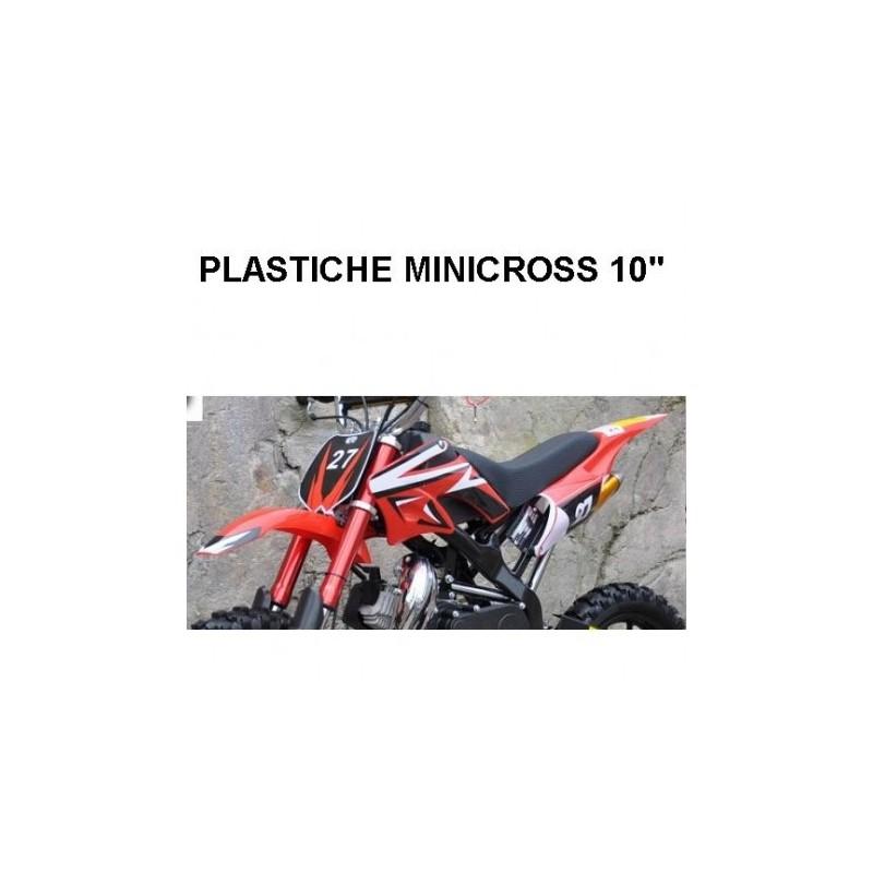 """CARENE MINICROSS SPIDER - 10"""" minimoto cross plastiche"""