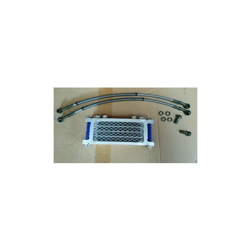 RADIATORE OLIO RACING PIT BIKE 150 160CC LAMELLARE ALTA EFFICENZA