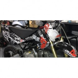 Adesivi GOTICI Per Carena Pit Bike CRF 70 Grafiche BSE cross minicross