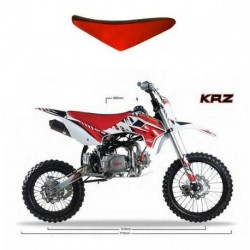 SELLA IN PELLE KRZ PIT BIKE CROSS KAYO 125cc 170cc
