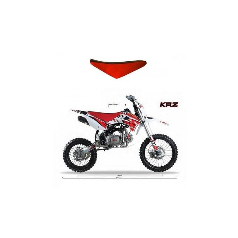 SELLA IN PELLE KRZ PIT BIKE CROSS KAYO 125cc 170cc