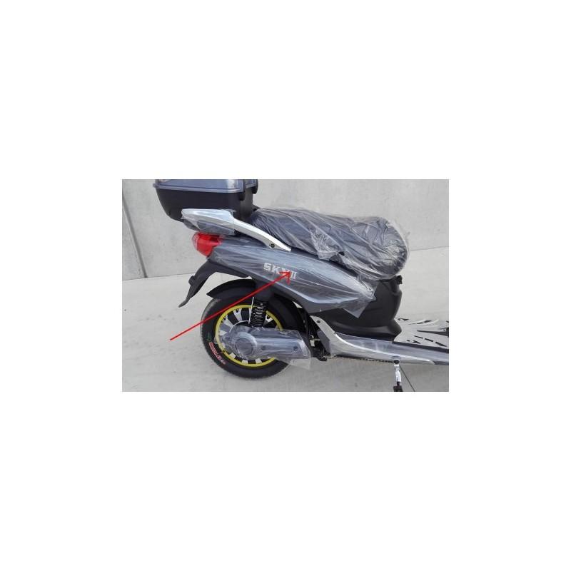 COPPIA PLASTICHE LATERALI CON SCRITTA SKY - bici elettrica scooter sky II tipo z-tech