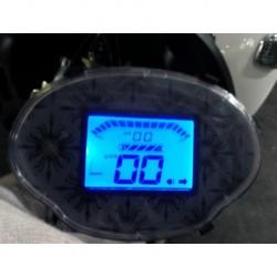 DISPLAY LCD CONTAKM VELOCITA' DIGITALE - bici elettrica scooter sky II tipo z-tech