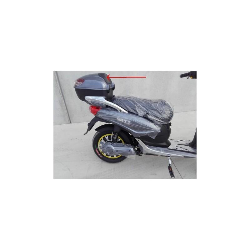 PLASTICA POGGIA SCHIENA SUL BOX PASSEGGERO - bici elettrica scooter sky II tipo z-tech