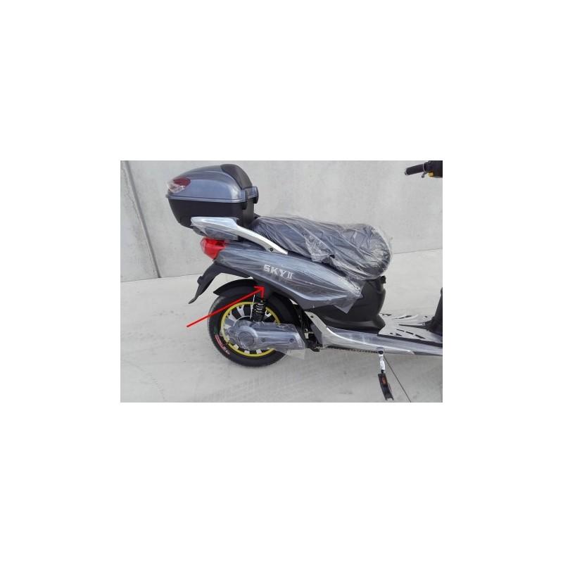 COPPIA PLASTICHE COPRI AMMORTIZZATORI - bici elettrica scooter sky II tipo z-tech