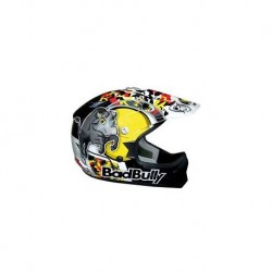 CASCO CROSS BAD BULLY by ONE TG. M 51-52 DA BAMBINO
