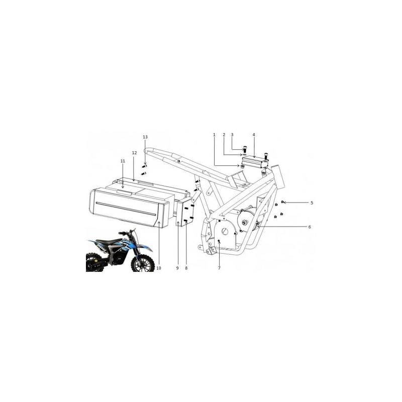 CENTRALINA 24V 500W MINICROSS ELETTRICO LION - controller
