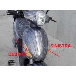 FRECCIA SINISTRA LAMPADA FANALE - bici elettrica scooter sky II tipo z-tech