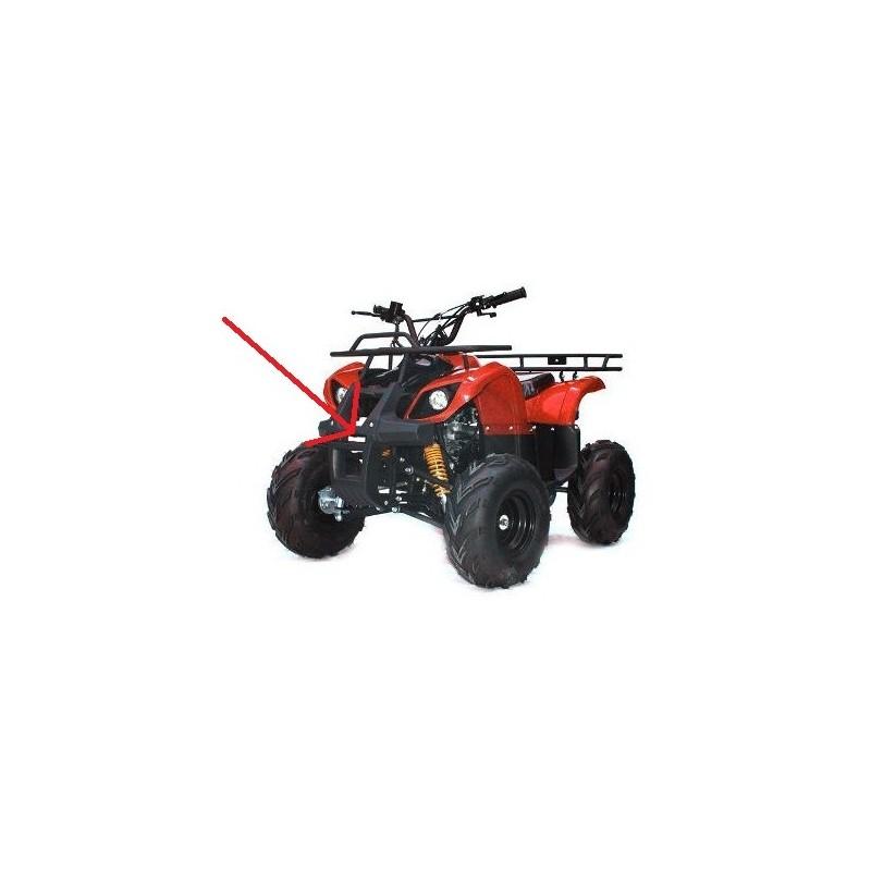 PLASTICA PARACOLPI ANTERIORE PROTEZIONE QUAD ATV HUMMER 2 FARI VECCHIO MODELLO