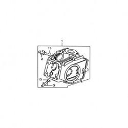 TESTA YX 125cc ESCLUSO VALVOLE E ALBERO A CANNE - blocco motore pit bike kayo krz 125