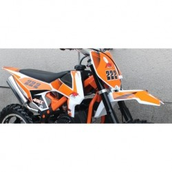 kit completo PLASTICHE CARENE MINICROSS FALCO - minimoto cross