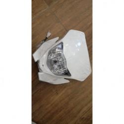 fanale completo di mascherina e lampadine cross kayo K2 250cc
