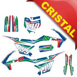 KIT GRAFICHE NCX THOR 125cc 14/12 ITALY IN CRISTAL