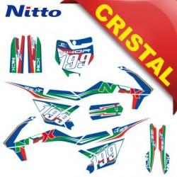 KIT GRAFICHE NCX THOR 125cc 14/12 ITALY IN CRISTAL NITTO ®