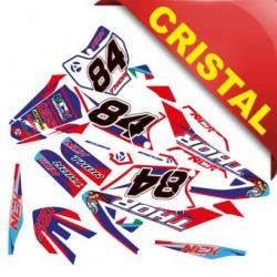 KIT GRAFICHE NCX THOR 125cc 17/14 ROSSO / BLU IN CRISTAL