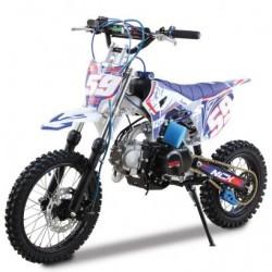NCX CRX 125 14/12 SILVER Pit Bike